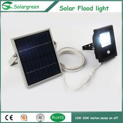 3-5 indicatore luminoso solare di riserva di movimento di giorni nuvolosi 10W LED