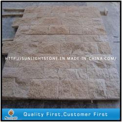 Китай желтый гранитный камень Garden Floor асфальтирование и подъездная дорожка Pavers