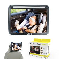 LEDライトが付いている最もよい価格の高品質の安全赤ん坊車ミラー
