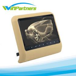 9-дюймовый портативный светодиодный экран Full HD DVD ПОДГОЛОВНИКА автомобиля монитор автомобильный DVD плеер с 800*480 кар стайлинг