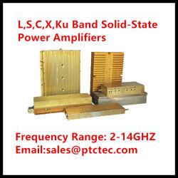 L, S, C, X, Ku диапазона твердотельные усилители мощности