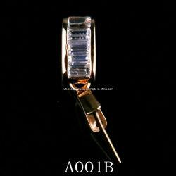 Индивидуальные серебряные кулоны зажим (A001B)