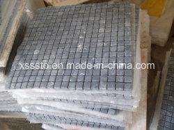 Nero Marquina Marble Mosaic メッシュ