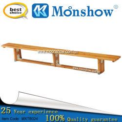 Les lamelles en bois solides, long banc pour meubles Moonshow Bibliothèque