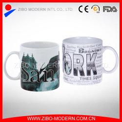 Grande tasse de café avec conception Ner gaufré York
