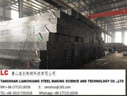 Stahlgefäß-Schweißung des schwarzen Quadrat-En10219. Q235