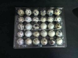 ペットPVCプラスチック卵のパック30の穴の卵の包装の皿30の包装業者のウズラの卵の包装の容器30スロット