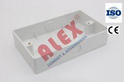 """PVC Prise murale boîtier commutateur-3""""X6""""-pipe d'entrée ou de l'agrégation Box-Electrical Entry-Plastic Box"""