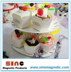 Simulation Cupcakes 인공적인 PVC Crafts Fridge Magnet