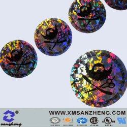 Custom Самоклеющиеся Водостойкий цветной безопасности голограммы этикетки