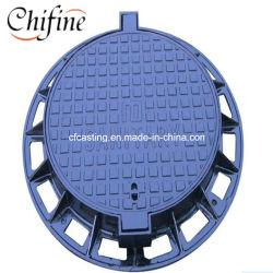 Hersteller-Sand-Gussteil-duktiler Dach-Abfluss-Roheisen-Einsteigeloch-Deckel des duktilen Eisens