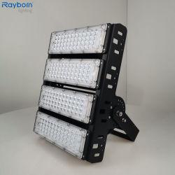 강력한 피루드라이트 LED 100W/150W/200W/400W 500W 800W IP66 LED 실외용 프로젝터 램프, 테니스 코트 스타디움 주차 스포츠