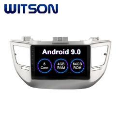 Witson Octa-Core Android 9.0 lecteur de DVD de voiture pour Hyundai Tucson 2015/IX35 construit en 64 Go de mémoire flash 4 Go de RAM Module WiFi