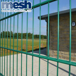 Hebei Factory Galvanized Wire 868 Double Wire Fence 2D Panel