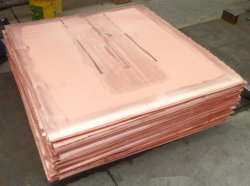 Hot Sale cu 99,99 % de cathodes de cuivre électrolytique