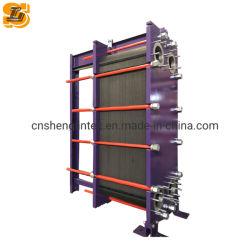 Machines de moulage par injection de l'utilisation de la plaque du refroidisseur d'huile hydraulique Échangeur de chaleur