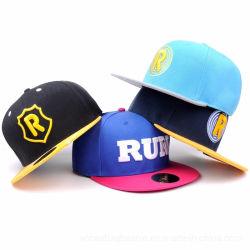 100%Acrylic新しく平らな縁時代の野球帽の急な回復の帽子