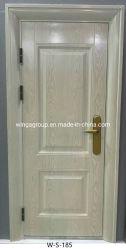 Europa Weiß Holz Farbe Best Sell Sicherheit Eisen Metall Stahl Tür W-S-185