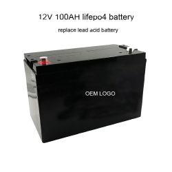 Ce UL SGS ISO Batterie lithium-ion 12V Stockage d'énergie solaire 100AH 200AH ODM