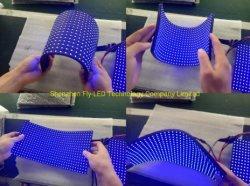 LEDビデオスクリーンの柔らかいカーテン適用範囲が広いLEDのスクリーンの湾曲
