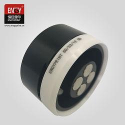 Tazza dell'inchiostro da stampa del rilievo della tazza dell'inchiostro dell'anello dell'acciaio di tungsteno con l'anello del carburo di tungsteno