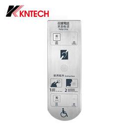 Intercomunicación Knzd IP-17 Video Teléfonos de emergencia para el ascensor