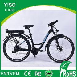 250W型の電気バイク標準的な都市Ebike安いレトロ36V頑丈な都市電気自転車