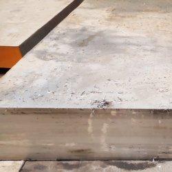 1.2316/S136 لوحة من الفولاذ المقاوم للصدأ وقاعدة مسطحة لصنع العفن