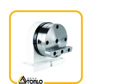 تم وضع مخزون من الأقراص المضغوطة ذات المحور الرابع CNC للطاولة الدوارة من ملحقات ماكينة CNC