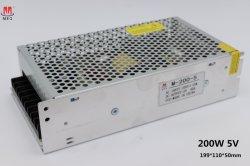 AC/DC 40A Ein-Outputschaltungs-/Schalter-Stromversorgung 200W 5V für LED-Bildschirmanzeige