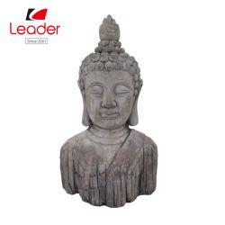 Nuevo estilo Polyresin Hogar y Jardín Decoración Buda Busto estatua de Buda de resina