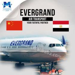 Service d'expédition de fret aérien fiable de la Chine à l'Égypte/Le Caire/Alexandrie