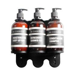 Luxury shampoo e sabonete cabeça três dispensador de Hotéis
