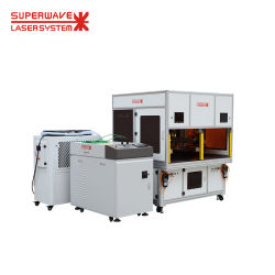 Автоматическая волокна лазерный сварочный аппарат для оборудования из нержавеющей стали