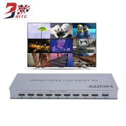 Visor de múltiples HDMI 9 entrada HDMI 1 salida HDMI Switcher 4K, el divisor en pantalla grande, HDTV para la conferencia, reunión, la educación