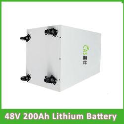 Sistema solare del ciclo profondo/batteria dell'yacht/carrello di golf/della batteria litio dell'automobile 48V 200ah LiFePO4