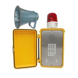 騒々しい話す電話IPの屋外の険しい電話