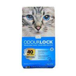 La comida de gato de la bolsa de embalaje de la alimentación animal con Ziplock y manejar