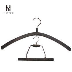 Camisola do Lotus de madeira personalizado Hanger para mulher com gancho