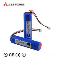 38.3 Wercs/ONU 2200mAh/2600mAh recarregáveis Bateria Li-ion 18650 para GPS