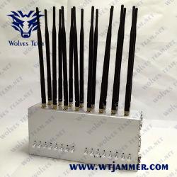 Le brouilleur/RF de fréquence complète le brouilleur/Signal sans fil le brouilleur/2G/3G/4G/GSM et CDMA/WiFi/GPS/UHF/VHF/signal brouilleur 433/315MHz