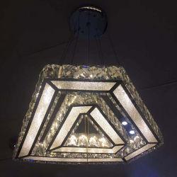 Verlichting van de Kroonluchter van het Kristal van de luxe de Binnen Decoratieve Moderne