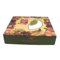 Caja de papel plegado Caja de cartón para embalaje de frutas