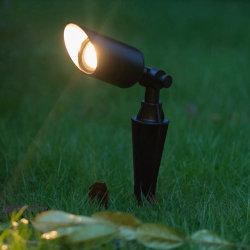 Garden Spike لون خارجي LED Uplighting في أرض الواقع شجرة