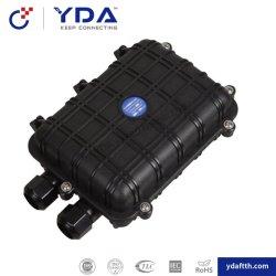 FTTH 12 24 6 48 72 96 horizontale Plastikfaser-optisches Spleißstelle-Schliessen des Kern-PP/ABS/PC