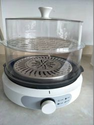Электрическая пароварка многофункциональный кухонный комбайн