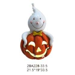 Zucca della decorazione di Halloween del regalo della resina del mestiere di Polyresin