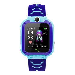 아이들 Sos 노예 접촉 스크린 팔찌 손목 시계 손 시계 사진기 SIM GSM 교육 소년 수학 게임 매우 약간 지능적인 시계