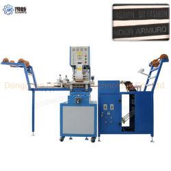 La Chine de la soie/nylon/l'organza/ruban Grosgrain feuille chaude de l'impression des rubans de machines Logo Debossing Machine d'estampillage