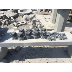 정원 & 야외 장식의 석조 동물 석조 조각 Owl